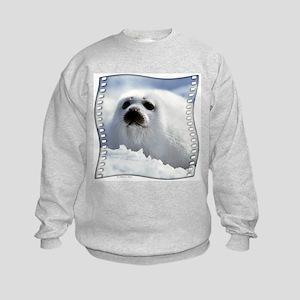 Harp Seal Kids Sweatshirt