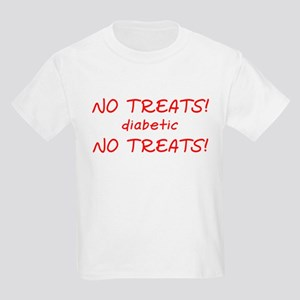 """""""No Treats! diabetic"""" Kids T-Shirt"""