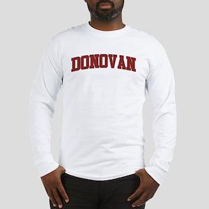 DONOVAN Design Long Sleeve T-Shirt