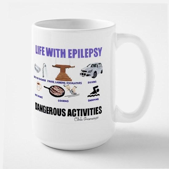 DANGEROUS ACTIVITIES Large Mug