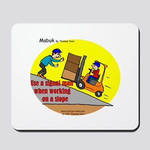 Forklift Safety Mousepad