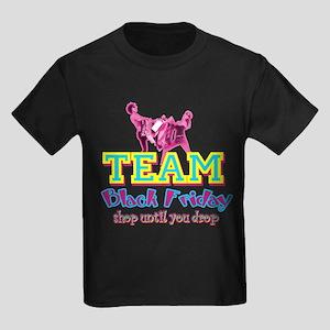 Team Black Friday Kids Dark T-Shirt