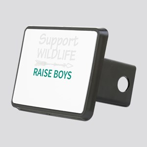 Support Wild Life Raise Bo Rectangular Hitch Cover