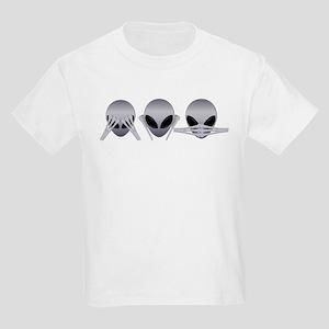 See No Evil Alien Kids T-Shirt