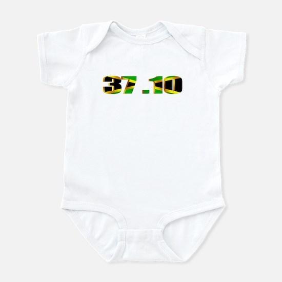 Jamaican flag 37.10 Relay Infant Bodysuit