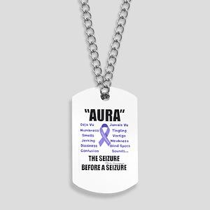 """AURA"" Dog Tags"
