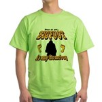 Bigfoot is my Homeboy Green T-Shirt