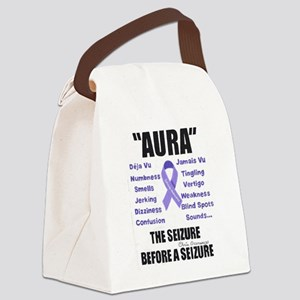 """AURA"" Canvas Lunch Bag"