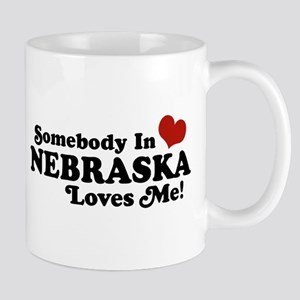 Somebody in Nebraska Loves Me Mug