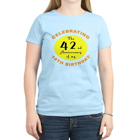 Celebrating 60th Birthday Women's Light T-Shirt