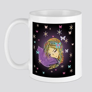 Fantasy winter dreaming Mug
