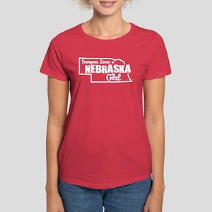 Nebraska Girl Women's Dark T-Shirt