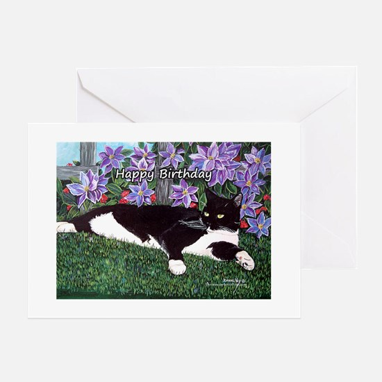 Cat Birthday Greeting Cards