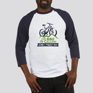 My Bike is Calling Baseball Jersey