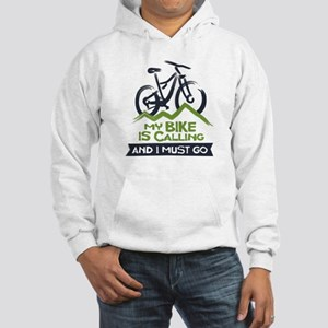 My Bike is Calling Hooded Sweatshirt