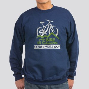 My Bike is Calling Sweatshirt (dark)