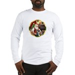 Santa's German Shepherd #15 Long Sleeve T-Shirt