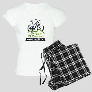 My Bike is Calling Women's Light Pajamas