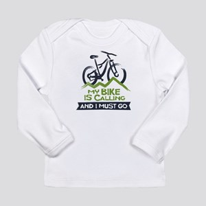 My Bike is Calling Long Sleeve Infant T-Shirt