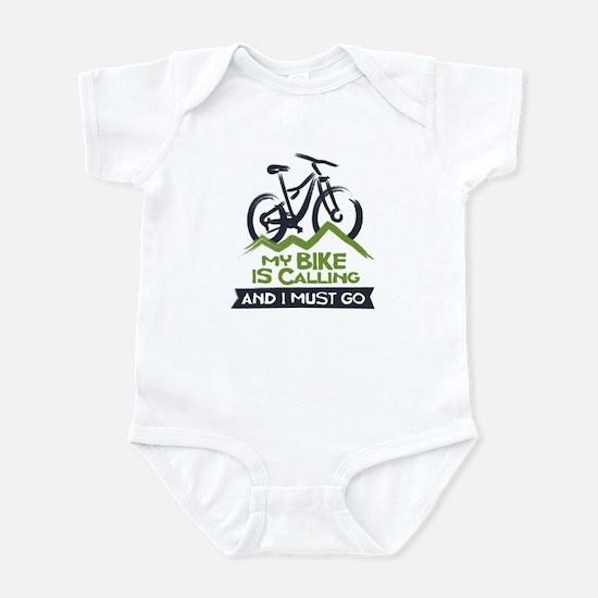 My Bike is Calling Infant Bodysuit