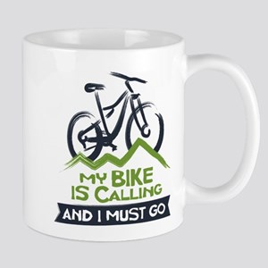 My Bike is Calling Mug