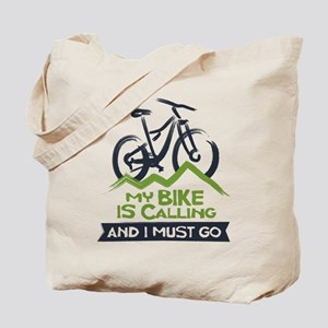 My Bike is Calling Tote Bag