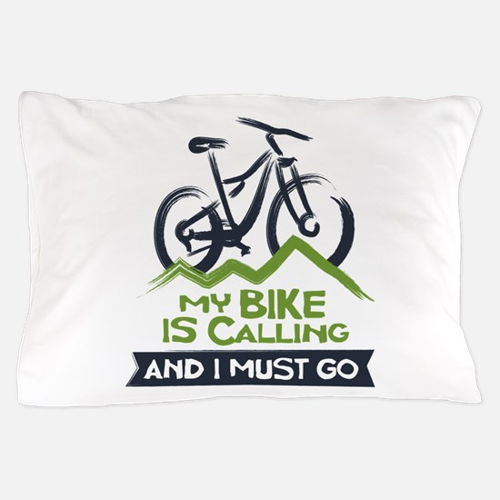 My Bike is Calling Pillow Case