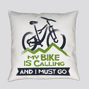 My Bike is Calling Everyday Pillow
