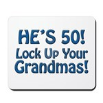 50th Birthday Gifts Mousepad