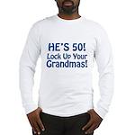 50th Birthday Gifts Long Sleeve T-Shirt
