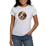 Santa's German Shepherd #13 Women's T-Shirt