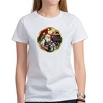 Santa's German Shepherd Pup #12-15 Women's T-Shirt