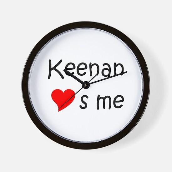 Funny Keenan Wall Clock
