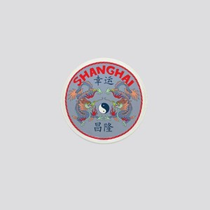 Shanghai Dragons Mini Button
