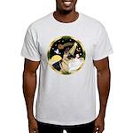 Night Flight/German Shepherd #13 Light T-Shirt