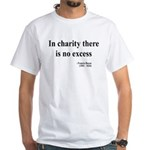 Francis Bacon Text 6 White T-Shirt