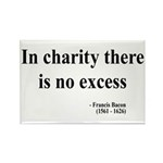 Francis Bacon Text 6 Rectangle Magnet (10 pack)