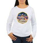 XmasStar/Shih Tzu Women's Long Sleeve T-Shirt