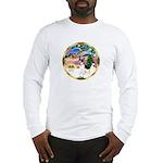 XmasMagic/Rat Terrier Long Sleeve T-Shirt