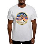 XmasStar/Rat Terrier Light T-Shirt