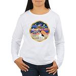 XmasStar/Rat Terrier Women's Long Sleeve T-Shirt