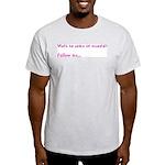 Follow Me Ash Grey T-Shirt