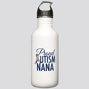 Autism Nana Stainless Water Bottle 1.0L