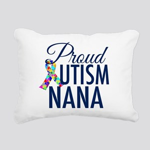 Autism Nana Rectangular Canvas Pillow