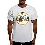 XmasMusic3/Sheltie 7 Light T-Shirt