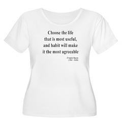 Francis Bacon Text 7 T-Shirt