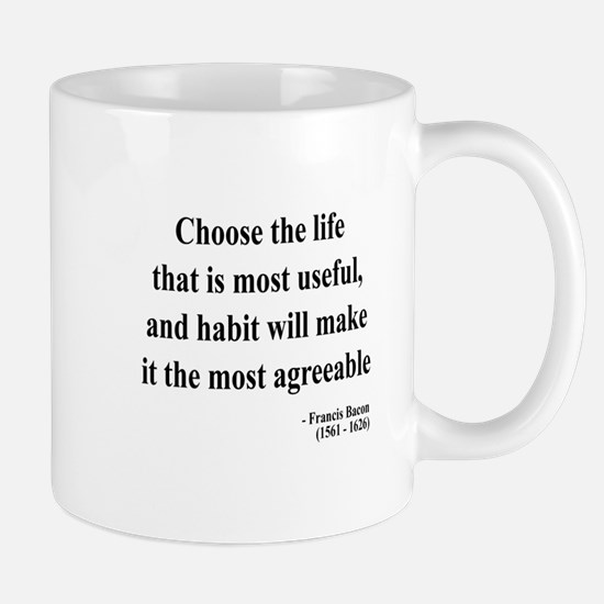 Francis Bacon Text 7 Mug