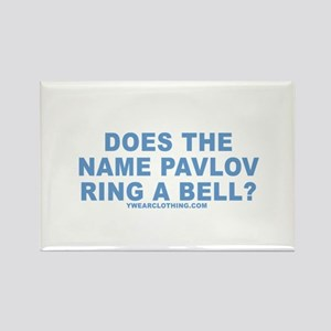 Pavlov's Bell Rectangle Magnet
