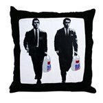 Kray twins Throw Pillow