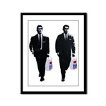 Kray twins Framed Panel Print